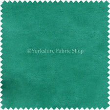 New Furnishing Quality Turquoise Blue Colour Soft Pile Skin Effect Velvet Fabric