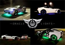 "ORACLE Lighting 4215-334 13.5"" ColorSHIFT Wheel Rings Rim Light Kit W/No Remote"