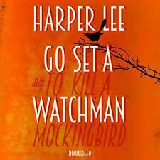 Go Set A Watchman by Harper Lee  (CD-Audiobook read by Reese Witherspoon, 2015)