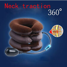 (HQ)Fashion Cervical Neck Traction Back Shoulder Headache Pain Relax Kit Device