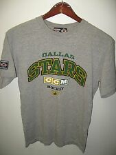 Dallas Stars NHL National Hockey League CCM Center Ice Texas USA T Shirt Medium