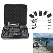 Wireless Fishing Bite Alarm +4pcs Set Digital Fishing Alarm for Carp Fishing