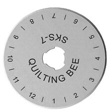 45mm Rotary Cutter Replacement Blades Roller Cutter Blades Sewing Cutting