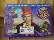 Willy Wonka & the Chocolate Factory (3-Disc 40th Anniv Collector's Ed.) BD/DVD