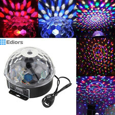 Stage Effect Light Lighting DMX512 LED RGB Disco DJ Party Show Crystal Ball #MA