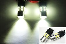 2 CREE LED Projector bulb 3157 3047 Backup Light Turn Signal DRL Chevy Silverado