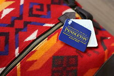 Pendleton Scarlet Coyote Butte Backpack Leather Aztec Wool Woolrich Duffle Bag