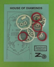 1978 Zaccaria House of Diamonds pinball rubber ring kit