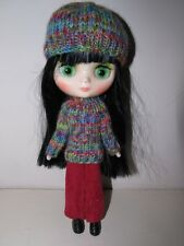 Winter Hand Knitted Set For Middie Blythe