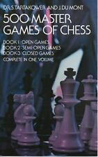 500 Master Games of Chess by S. Tartakower and J. Du Mont (1975, Paperback,...
