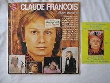 CLAUDE FRANCOIS DOUBLE 33 TOURS album souvenir