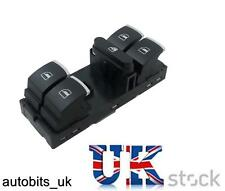 VW GOLF MK5 MK6 PASSAT B6 TIGUAN SCIROCCO EOS CHROME POWER MASTER WINDOW SWITCH