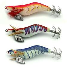 10cm 2.5# Soft Shrimp Prawn Worm Bait Lure Saltwater Squid Fishing Rigs Glow WH