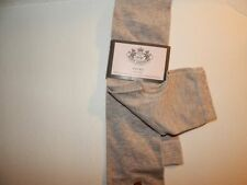 Juicy Couture Khaki  Footless Yoga Knee Socks