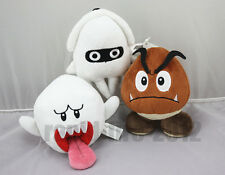 3pcs Super Mario Bro.Goomba & Boo Ghost & Blooper Plush Doll Soft Toy Xmas Gift