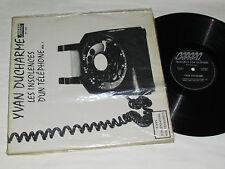 YVAN DUCHARME Les Insolences d'un Telephone Volume 1 LP FRENCH QUEBEC COMEDY
