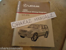 1998 LEXUS LX470 Electrical Wiring Diagram Service Manual OEM