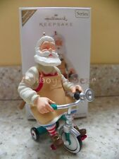 Hallmark 2011 Toymaker Santa Claus Series Ornament Register to Win Repaint