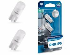 PHILIPS LED VISION  W5W T10 127914000KB2 Pure White 4500K 12V w2.1x9.5d (2 pc)