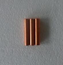 3pcs Ndfeb D8x40 mm Neodymium Cylinder Magnets Diametrically magnetized Rod N38
