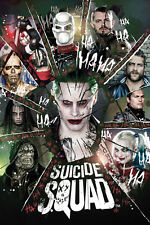 14x21Inch Art 2016 Suicide Squad Movie Poster Joker Harley Quinn 756