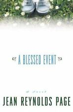 A Blessed Event: A Novel Page, Jean Reynolds Hardcover