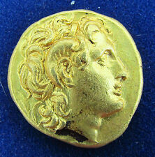 VF ANCIENT Kings of Thrace  Lysimachus  GOLD Stater  circa 305-281 BC (1959-)
