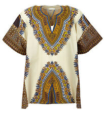 AFRICAN ZULU JUNGLE SAFARI FANCY DRESS SHIRT