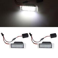 1 Pair 18 LED License Plate Light For Chevrolet Cruze 2009-2014 Camaro 2010-2013