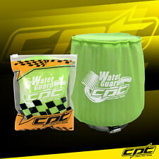 Water Guard Cold Air Intake Pre-Filter Cone Filter Cover for Subaru Medium Green
