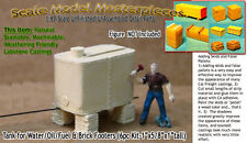 Water/Oil/Fuel Tank & Brick Footers (6pc set) Thomas Yorke/SMM02 HO-Scale Model