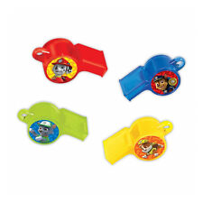 12 Paw Patrol Puppy Pets Children's Birthday Party Loot Favour Toys Whistles