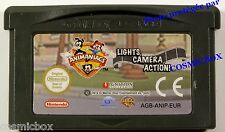 LIGHT CAMERA ACTION - ANIMANIACS jeu Game Boy Advance compatible DS dsi lite