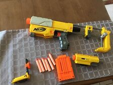 Nerf Recon CS-6 With Stock Mag Bullets And 2 Sights