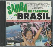 Samba de Carneval de Brasil Brazil by Various Artists (CD, Oct-1991, Laserlight)