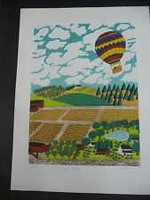 """MIKE FALCO PENCIL SIGNED A/P ARTIST PROOF LITHO? SERIGRAPH? - """"SPRING"""""""
