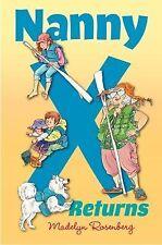 Nanny X Returns, Madelyn Rosenberg, New Book