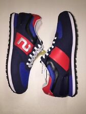 "POLO SPORT RALPH LAUREN RL ""SLATON"" SNEAKERS RUNNER TRAINER RUNNING SHOES SZ 14"