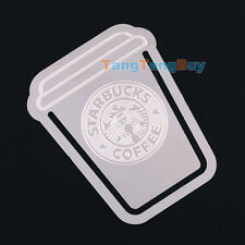 1pc Starbucks Metal Clip-On Bookmark Vintage Book Mark mini Envelope Gift