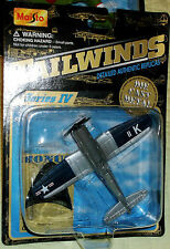 2000 Maisto Tailwinds WWII US Naval Reserve Training Vought F4U-4 Corsair with B