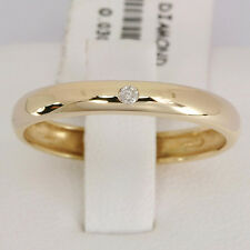 Diamond Studder 9ct 9K 375 Solid Gold Wedder Ring, Free Shipping 30 Day Refunds
