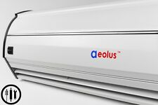 """Welbon 40"""" Super Thin Alloy Case Air Curtain with Door Switch"""