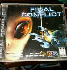 Final Conflict PC GAME - FREE POST