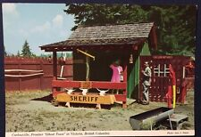 Carlowville Frontier Ghost Town Victoria British Columbia Vintage Post Card