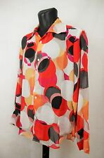 Mens Vintage 70s Style Ladies HAND MADE Prince Crazy Festiva Shirt Psychedelic