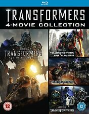 Transformers 4 Movie Collection 1- 4 Blu-Ray