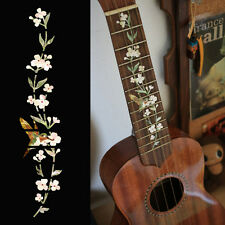 Fret Markers Neck Inlay Sticker For Soprano Ukulele - Tree of Life w/Hummingbird