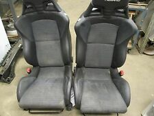 2011 Mitsubishi Lancer Evolution X Front Recaro Seats OEM Evo Heated LEATHER