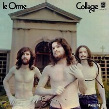 LE ORME Collage (Ltd. ed. transparent vinyl LP Italian Prog