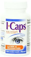 4 Pack - ICaps Lutein and Zeaxanthin Formula Coated Tablets 120 Each
